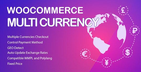 WooCommerce Multi Currency Premium logo